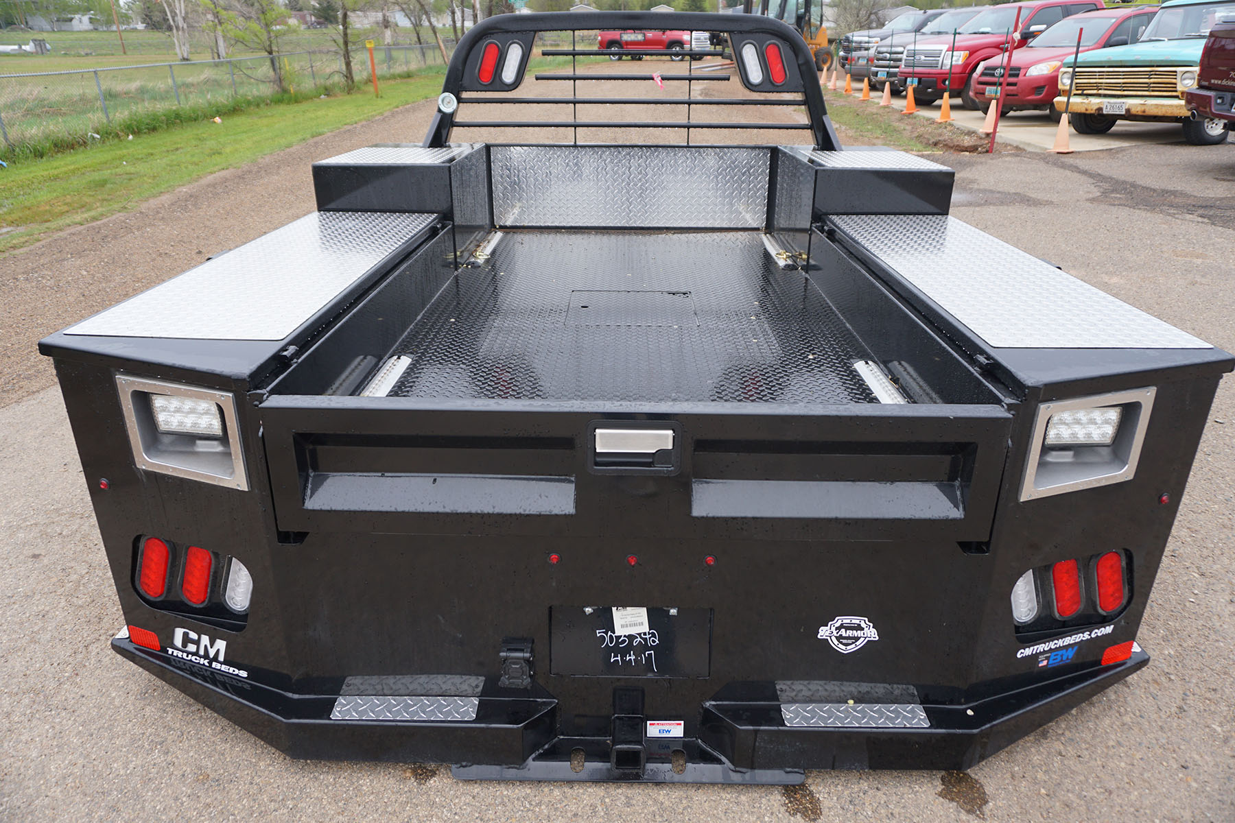 2014 Chevy 3500 With Cm Flat Bed For Sale Autos Post