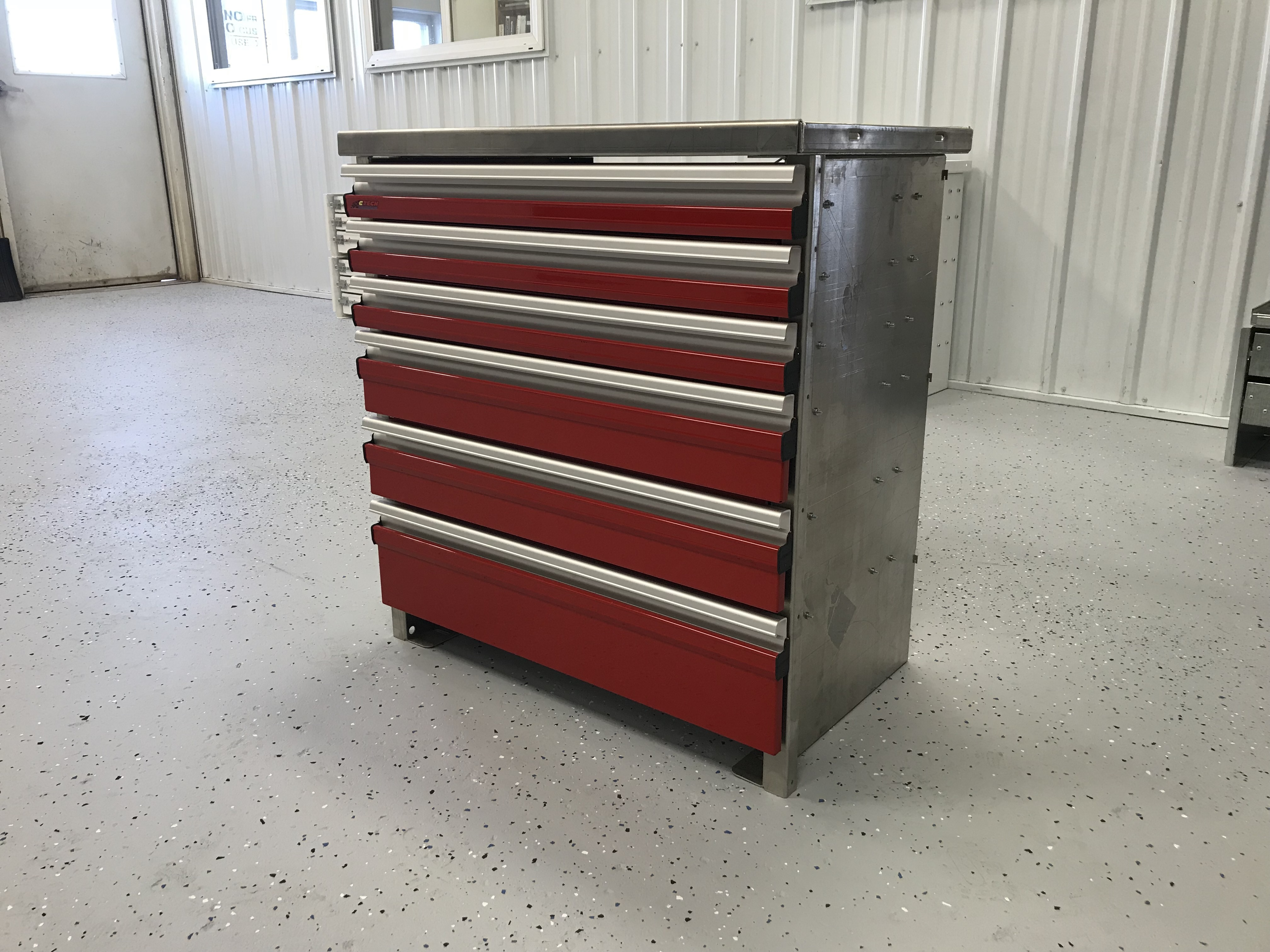 C Tech 6 Drawer Unit