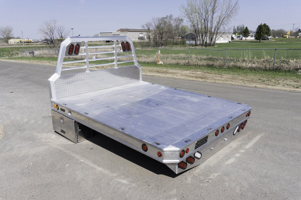 Drop Down Hitch >> Protech Aluminum Flatbed - Dickinson Truck Equipment